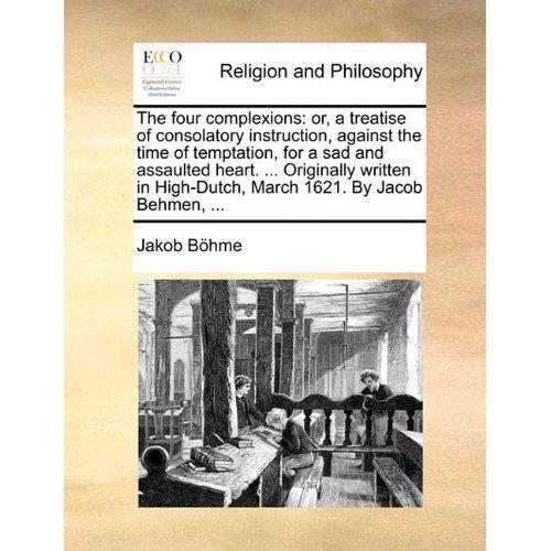 The Four Complexions-Jacob Boehme