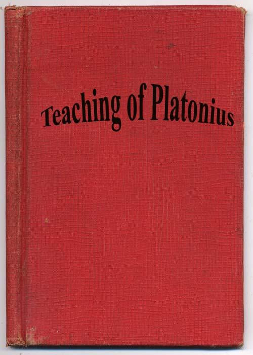 The Teaching of Platonius-Harriet H. Dallas, M.S.