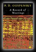 A Record of Some of the Meetings Held Between 1930 and 1947